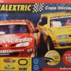 Scalextric: SCALEXTRIC – SLOT, CAJA CIRCUITO COPA INICIACIÓN (CAJA VACÍA). Lote 142358314