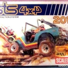 Scalextric: SCALEXTRIC STS 4X4 2010 EN MUY BUEN ESTADO COMPLETO VER DETALLES. Lote 142375022
