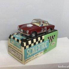 Scalextric: SCALEXTRIC MERCEDES 250 S.L. C-32 EXIN GRANATE CAPOTA MARRÓN. Lote 142728066