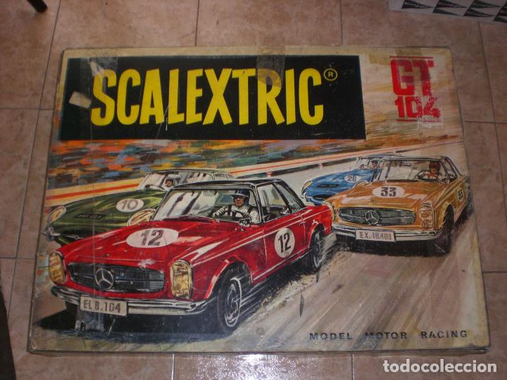 CIRCUITO SCALEXTRIC GT 104 (Juguetes - Slot Cars - Scalextric Exin)