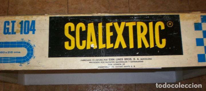 Scalextric: CIRCUITO SCALEXTRIC GT 104 - Foto 22 - 143137514