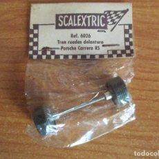 Scalextric - SCALEXTRIC EXIN REF.6026: PORSCHE CARRERA RS, TREN RUEDAS DELANTERO BLISTER PRECINTADO, NUEVO - 143178946