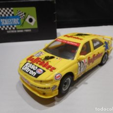 Scalextric: TYCO SRS-II PEUGEOT 406 HASSRÖDER. Lote 143215216