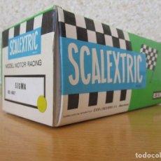 Scalextric: SCALEXTRIC EXIN SIGMA AMARILLO VA CON CAJA MEJOR VER FOTOS . Lote 143318234