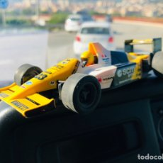 Scalextric: SCALEXTRIC EXIN 1:32 MINARDI F-1 TRICOLOR REF.8334 MADE IN SPAIN. Lote 143332372
