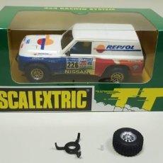 Scalextric: J4- NISSAN PATROL REPSOL SCALEXTRIC TT MUY DIFICIL DE CONSEGUIR. Lote 144003830