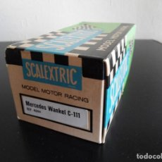 Scalextric: CAJA VACIA SCALEXTRIC EXIN REF. 4044 - MERCEDES WANKEL C-111. Lote 144169282