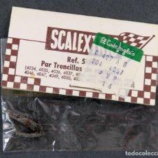 Scalextric: PAR TRENCILLAS CONTACTO SCALEXTRIC EXIN REF 5158 AÑOS 70. Lote 157684985