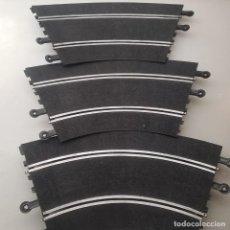 Scalextric: SLOT SCALEXTRIC EXIN 3X PISTA CURVA SUPER RACING PERALTADAS. Lote 144598426