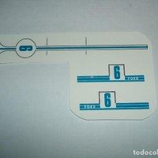 Scalextric: CALCAS AL AGUA FORD GT. Lote 222304818