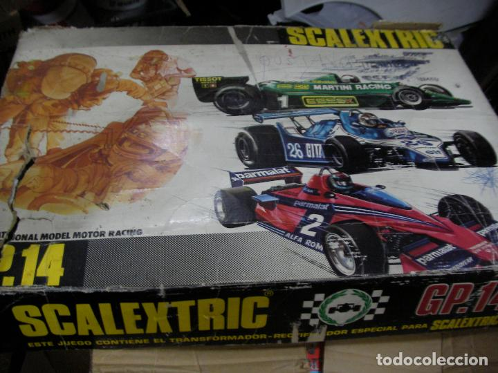 ANTIGUO CIRCUITO SCALEXTRIC EXIN GP-14 (Juguetes - Slot Cars - Scalextric Exin)
