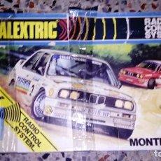 Scalextric: SCALEXTRIC EXIN MONTECARLO AÑOS 70 CAJA VACIA. Lote 145910414