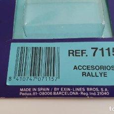 Scalextric: SRS BLISTER REF. 7115 DE EXIN VACÍO SIN PIEZAS. Lote 146530802