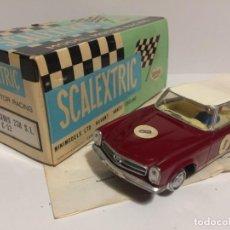Scalextric: MERCEDES 250 SL GRANATE EXIN. Lote 146774338