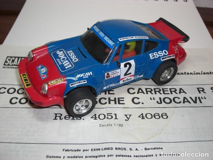 PORSCHE CARRERA JOCAVI. CON INSTRUCCIONES ORIGINALES. (Juguetes - Slot Cars - Scalextric Exin)