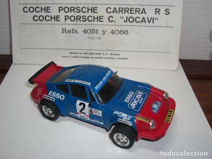 Scalextric: Porsche Carrera JOCAVI. Con instrucciones originales. - Foto 2 - 147065270