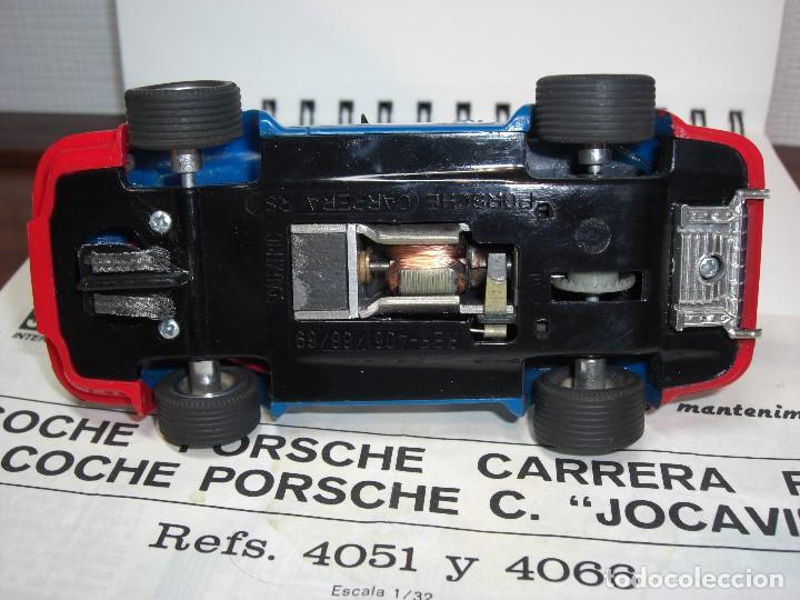 Scalextric: Porsche Carrera JOCAVI. Con instrucciones originales. - Foto 3 - 147065270