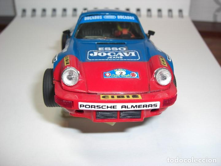 Scalextric: Porsche Carrera JOCAVI. Con instrucciones originales. - Foto 5 - 147065270