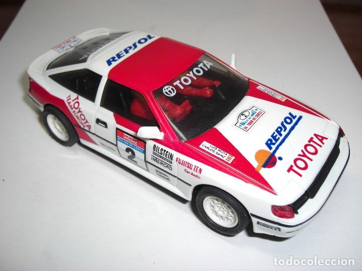 Scalextric: Toyota Celica REPSOL. - Foto 2 - 147068326
