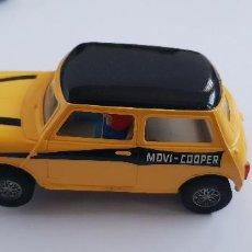 Scalextric: MINI COOPER C-45 AMARILLO SCALEXTRIC EXIN MOVI SIN CAJA. Lote 147938586