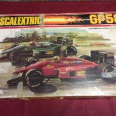 Scalextric: SCALEXTRIC GP 58 EXIN FERRARI SIN COCHES JUZGUEN POR FOTOS. Lote 149526508