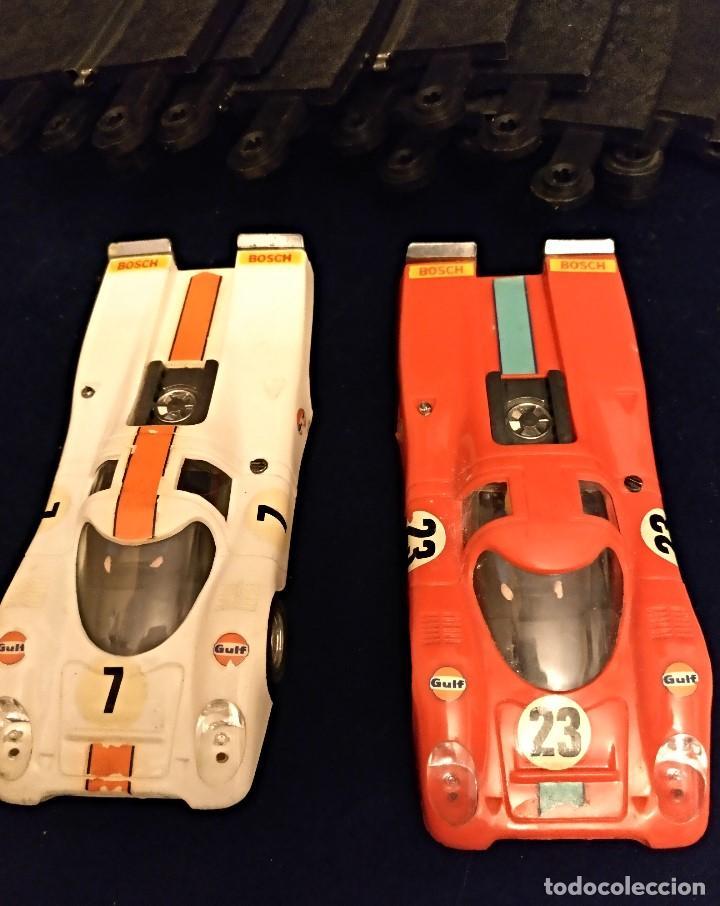 Scalextric: Scalextri de Exin años 70 coches Porche 917,pista Gtl 30 Lemans - Foto 2 - 150066194