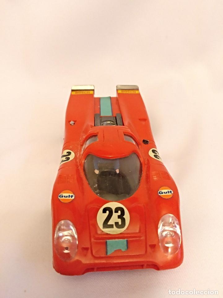 Scalextric: Scalextri de Exin años 70 coches Porche 917,pista Gtl 30 Lemans - Foto 14 - 150066194