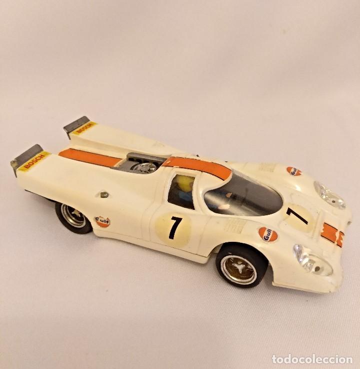 Scalextric: Scalextri de Exin años 70 coches Porche 917,pista Gtl 30 Lemans - Foto 16 - 150066194
