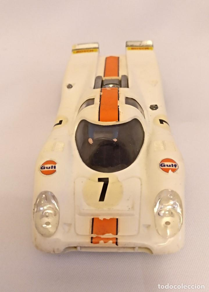 Scalextric: Scalextri de Exin años 70 coches Porche 917,pista Gtl 30 Lemans - Foto 17 - 150066194
