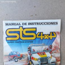 Scalextric: SCALEXTRIC EXIN STS 4X4 FOLLETO MANUAL INSTRUCCIONES . Lote 150132006