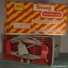 Scalextric: TRANSFORMADOR TR-1. TRI-ANG. Y MANDOS CONTROL DE 1969. Lote 150212518