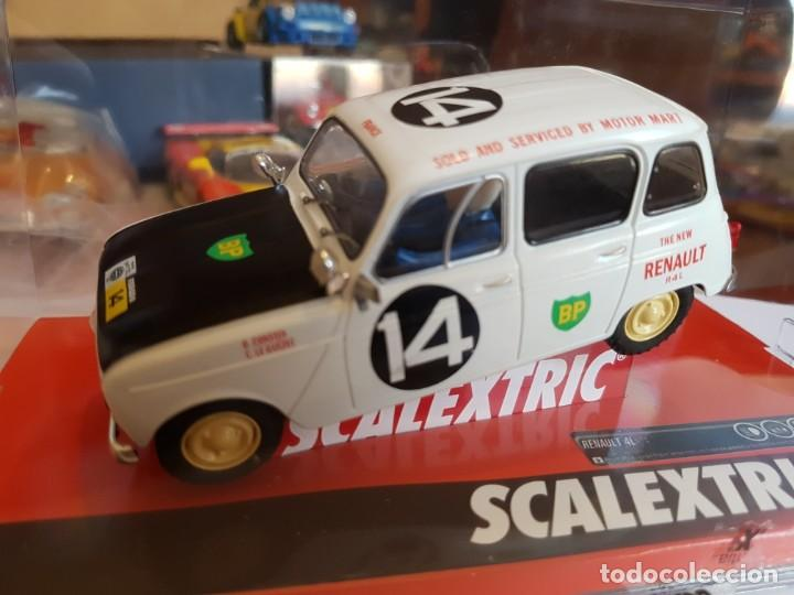 GRAN OFERTA SCALEXTRIC RENAULT 4L EAST AFRICAN SAFARI AÑO 1962 (Juguetes - Slot Cars - Scalextric Exin)