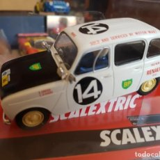 Scalextric: GRAN OFERTA SCALEXTRIC RENAULT 4L EAST AFRICAN SAFARI AÑO 1962. Lote 206930433