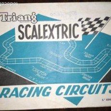 Scalextric: SCALEXTRIC RACING CIRCUITS 5ª EDICIÓN. Lote 150750018
