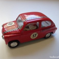 Scalextric: SEAT FIAT 600 TC RACE TUNED TRI-ANG INGLATERRA ORIGINAL SCALEXTRIC EXIN AÑO 1967. Lote 151538038