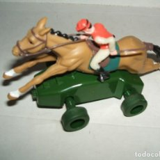 Scalextric: SCALEXTRIC CABALLO CON JINETE HORNBY MAGIC CARS. Lote 152127378
