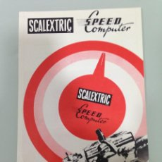 Scalextric: SLOT, SCALEXTRIC,SPEED COMPUTER,CUENTA KILOMETOS Y CUENTA MILLAS DE VELOCIDAD. Lote 153295790