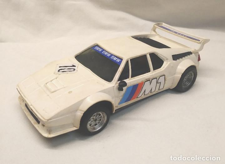 BMW M1 SCALEXTRIC EXIN SCALEXTRIC AÑOS 70 (Juguetes - Slot Cars - Scalextric Exin)