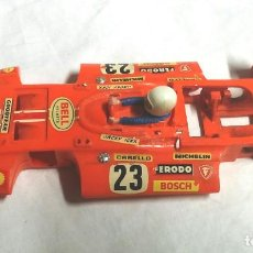 Scalextric: CARROCERIA Y CHASIS SIGMA REF C 47 NARANJA SCALEXTRIC EXIN AÑO 73. Lote 153923918