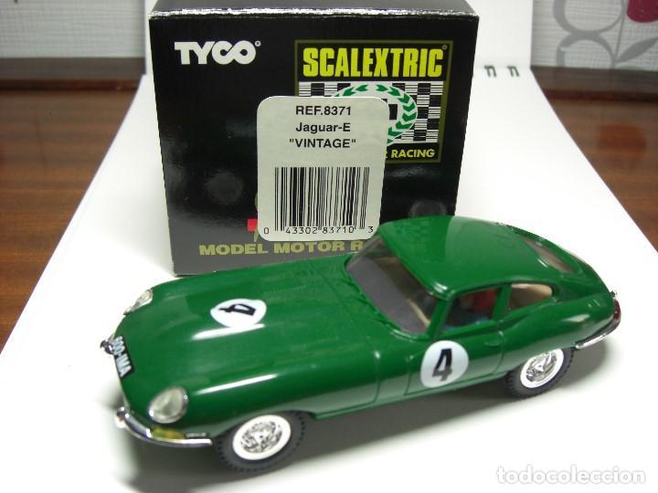 SCX. JAGUAR E. VINTAGE. (Juguetes - Slot Cars - Scalextric Exin)