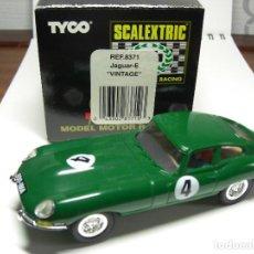 Scalextric: SCX. JAGUAR E. VINTAGE.. Lote 154700710