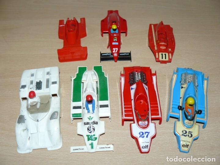 SCALEXTRIC EXIN LOTE F1 LIGIER FERRARI B3 TYRRELL P34 WILLIAMS FW DETERIORADOS AÑOS 70 MADE IN SPAIN (Juguetes - Slot Cars - Scalextric Exin)