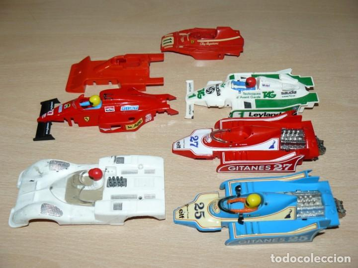 Scalextric: Scalextric EXIN Lote F1 Ligier Ferrari B3 Tyrrell P34 Williams FW Deteriorados años 70 Made in Spain - Foto 4 - 154711126