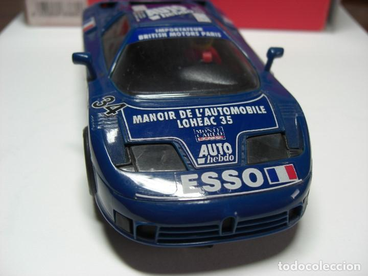 Scalextric: SCX. BUGATTI EB 110 LM Azul. - Foto 3 - 154715694