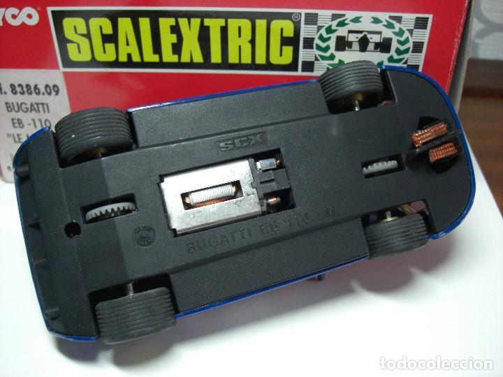 Scalextric: SCX. BUGATTI EB 110 LM Azul. - Foto 4 - 154715694
