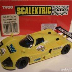 Scalextric: SCALEXTRIC. TYCO. SRS2 CLUB SCALEXTRIC. 1.996 MAZDA AMARILLO. Lote 154716586