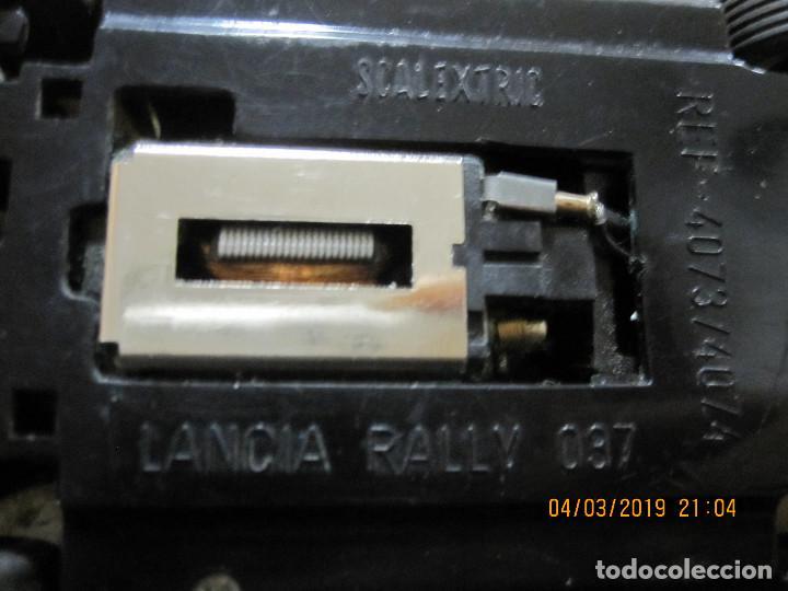 Scalextric: SCALEXTRIC EXIN LANCIA RALLY 037 BLANCO MARTINI FUNCIONA DESCATALOGADO - Foto 3 - 154762986