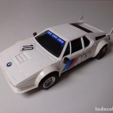Scalextric: BMW M1 PRIMERA SERIE RX-1 TODO ORIGINAL SCALEXTRIC EXIN REF.4063 AÑO 1981, SÓLO FALTA ALERÓN TRASERO. Lote 155024126