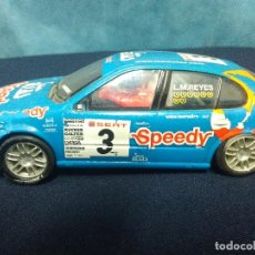 Scalextric: SEAT LEON SCALEXTRIC L.M. REYES. Lote 155346314