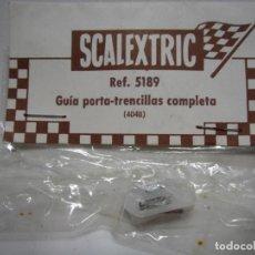 Scalextric: GUIA PORTA-TRENCILLAS BLANCA SCALEXTRIC EXIN NUEVA. Lote 155541894